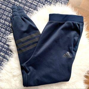 Adidas jogger sweat pants reflective with pockets